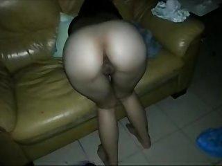 Chinese puta recebe pau
