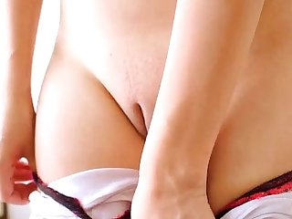 Huge Natural Breasts Blonde Latin Teen & Biggest Puffy Pussy