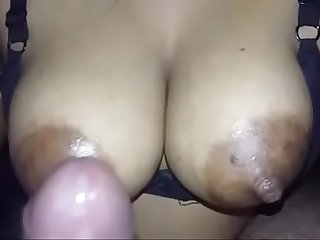 Indian super sexy woman with real big boobs and nipples fucking neighbor.MP4