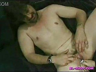 man with vagina (pussy)