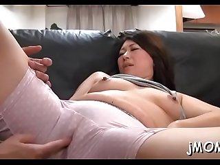 Hairy mature slut gets fucked hard in plenty of poses