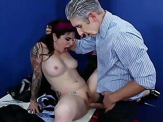 Angel Joanna fucked by multiple guys