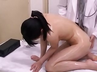 Japanese EP-2 Mother and Daughter Hospital Visit, Male Doctor Sexual Abuse, Act - 2 of 2