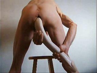 Huge Anus Fucks Giant Cocks - Double anal with huge dildos