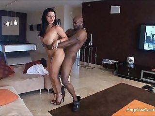 Big Titted Angelina Castro Fucks Everywhere!