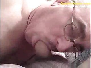 Grandpa Daddy Sucking Uncut