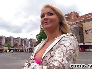 Amateur Czech slut Lana fucked in exchange for some money