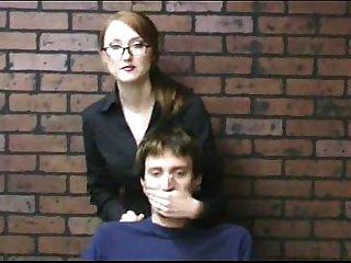cfnm - miss kendra and punk girl handjob one boy