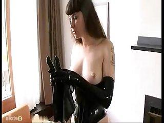 BDSM Latex Solo - SEXTVX.COM