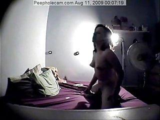Hidden Masturbation - Peepholecam - REAL CAUGHT MASTURBATING