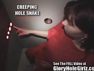Pregnant Carmen Swallows Man Milk In Tampa Gloryhole.