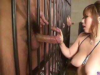 Japanese porn in prison along big boobs Neiro Suzuka - More at Slurpjp.com