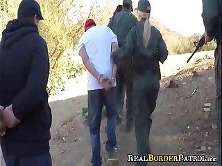 Wild Mexican Teen Slut Punished Fucked By BorderGaurd
