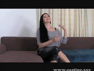 Casting Fun with Big natural tits!