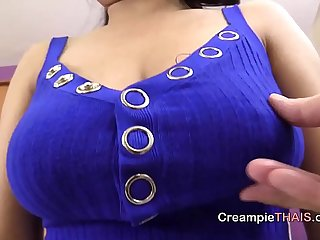 Suck my big natural titties as you fill my hole with cum