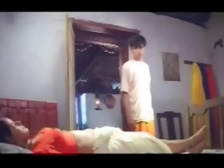 Young Boy tempting and Raiding the Mallu Aunty